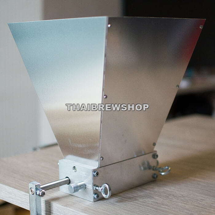 Standard Grain Mill - 2 Rollers (Aluminium Body, Stainless Steel Rollers)