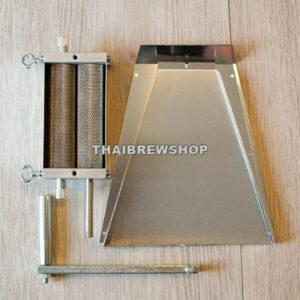 Standard Grain Mill - 2 Rollers (Aluminium Body, Stainless Steel Rollers)