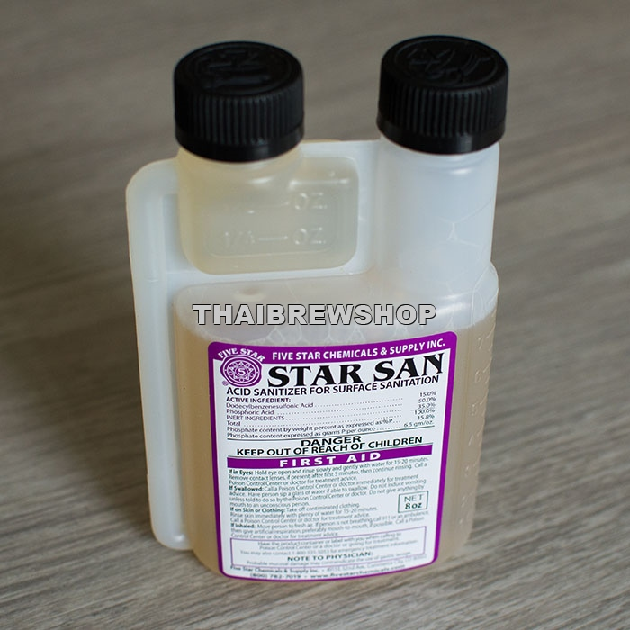 FIVE STAR - STAR SAN, no-rinse sanitizer 8oz