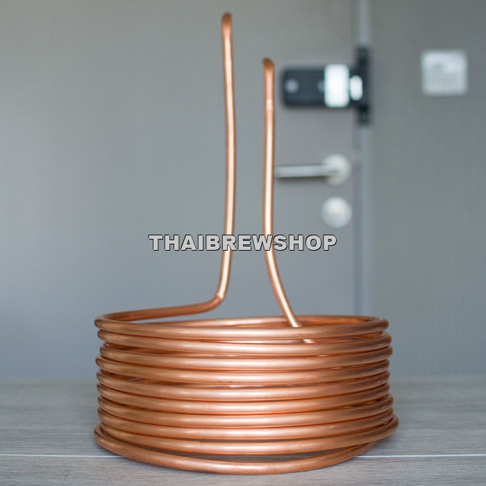 "Basic Wort Chiller (3/8"" Copper Tube)"