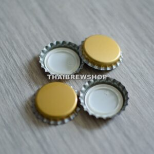 Gold Bottle Cap (100 pcs)