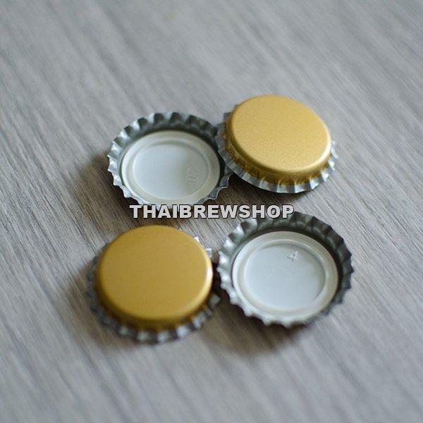 Gold Bottle Cap (100 pcs)