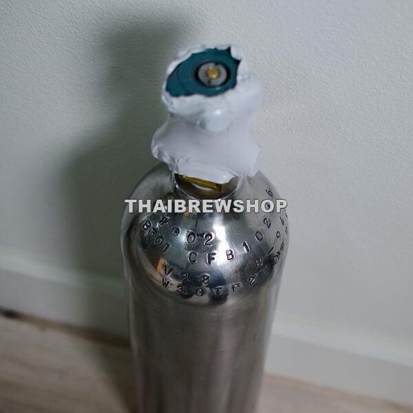 CO2 Tank - Aluminum (3.5kg empty, 5.5kg with CO2)