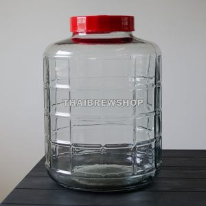 6.5 gallon Glass Bubbler