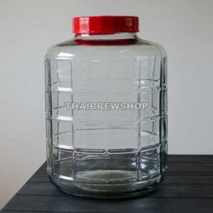 6.5 gallon Glass Bubbler