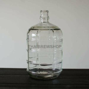 0.7 gallon Glass Carboy