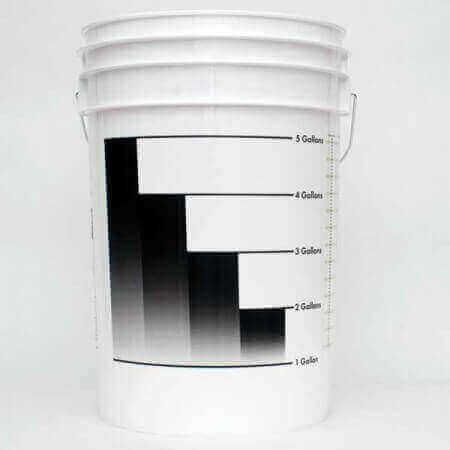 6.5gal Food grade HDPE Fermenting bucket