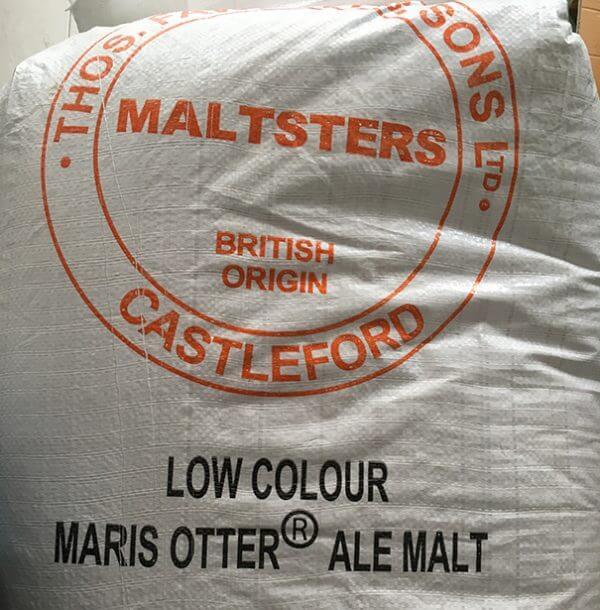Low-Colour Maris Otter Pale Ale Malt - Thomas Fawcett & Sons - 55lbs