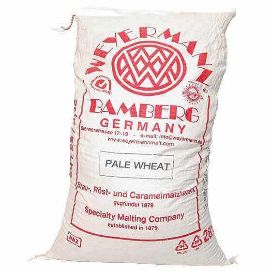 Pale Wheat Malt - Weyermann - 55lbs