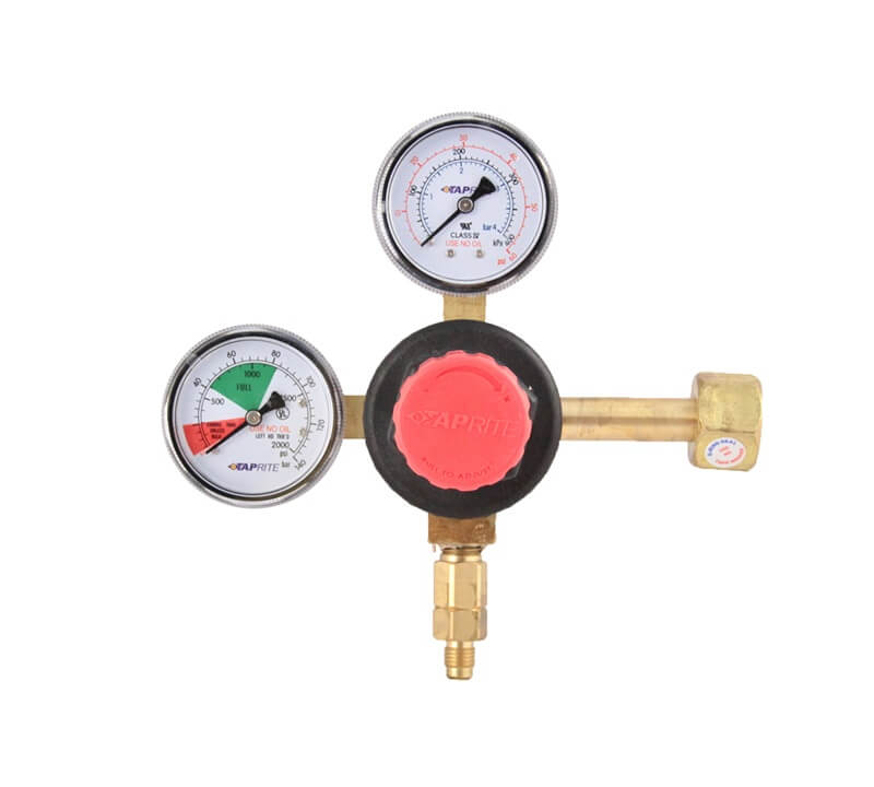 Taprite - CO2 Regulator T742HP-01 High Flow (Made in USA)