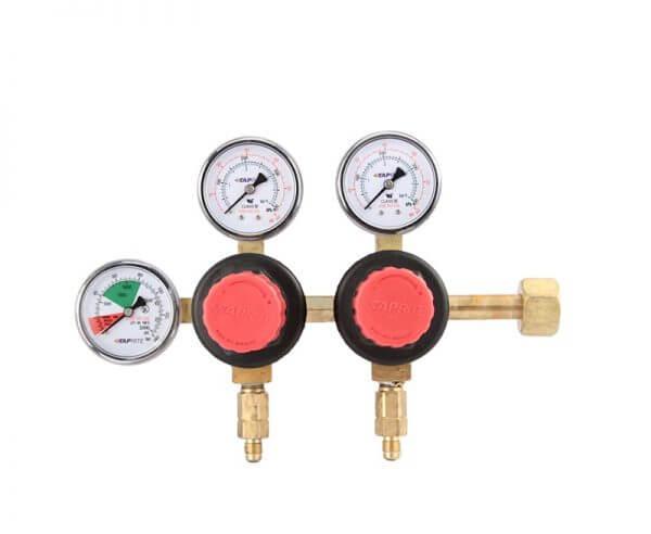Taprite - Dual Pressure Dual Gauges CO2 Regulator T752HP-01