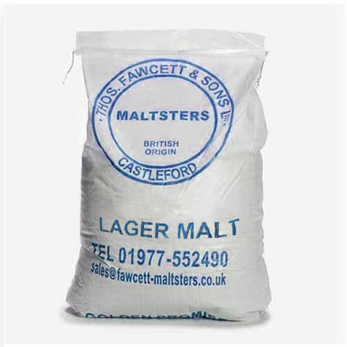 Thomas Fawcett Lager Malt sack 55lbs