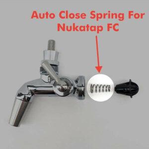 Auto-close Nukatap Flow Control Spring