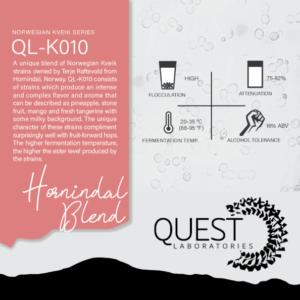 Quest Labs QL-K010 Hornindal Blend
