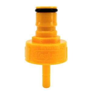 Yellow Plastic Carbonation Cap